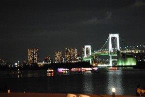 Rainbow Bridge, Odaiba Bay, Tokyo