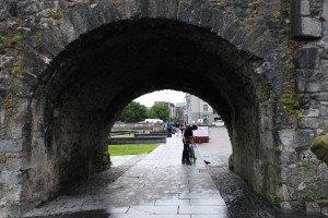 Spanish Arch in Galway harbour.