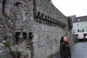 Old town walls.